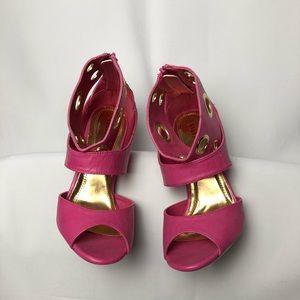 Lilana Pink Heels